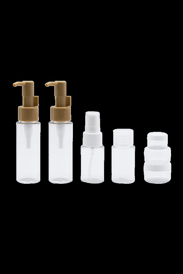 set de voyage Bouteille en plastique PET transparente portable 60 ml 35 ml